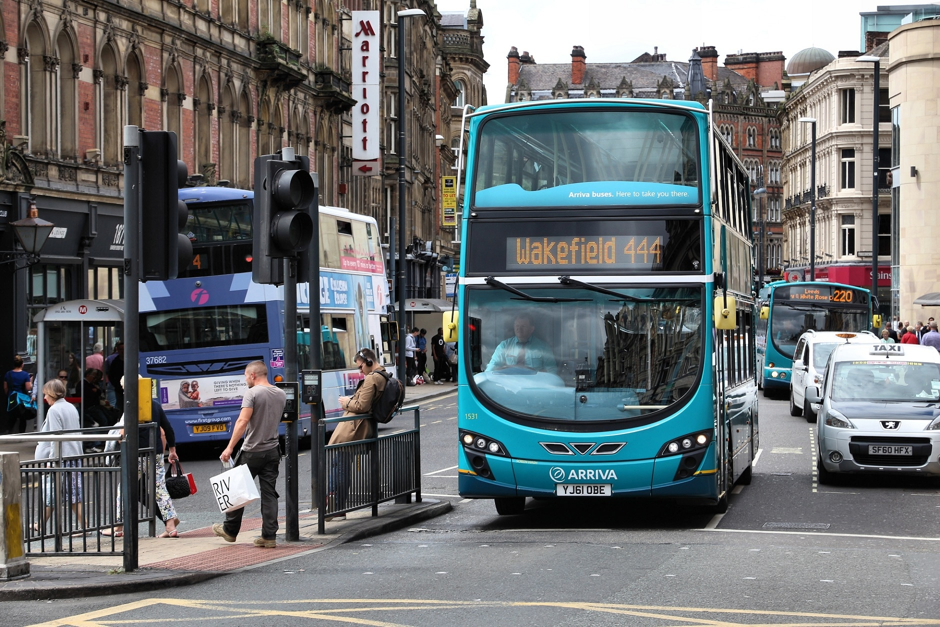 West Yorkshire bus franchising plans