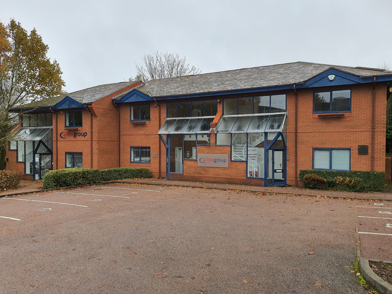Centrad Tamworth head office and warehouse