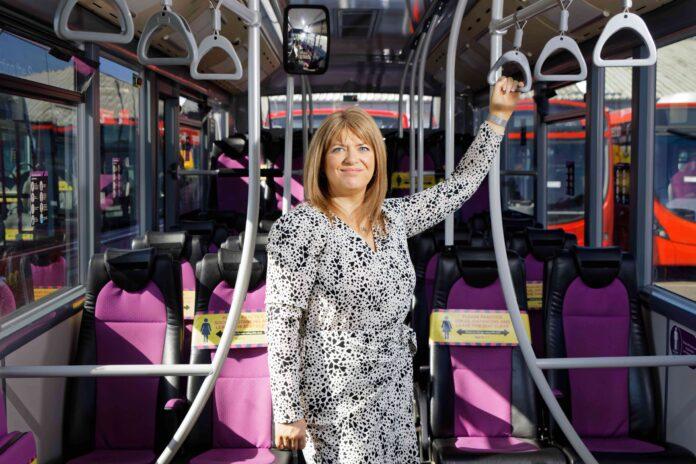 First Cymru MD Jane Reakes-Davies
