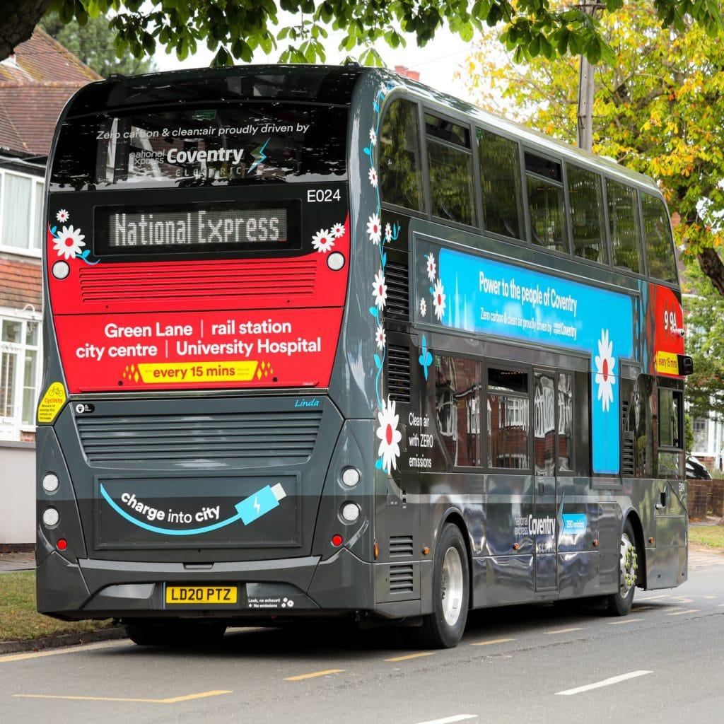 National Express BYD ADL Enviro400EV