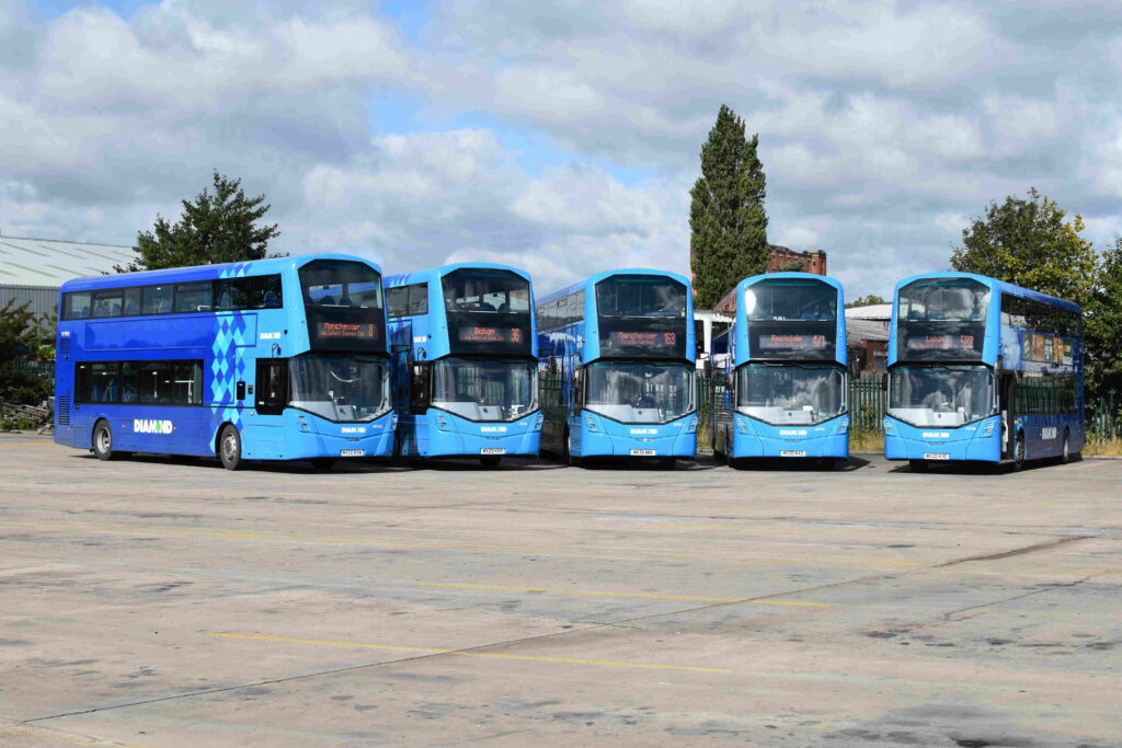 Diamond Bus North West new buses 2020
