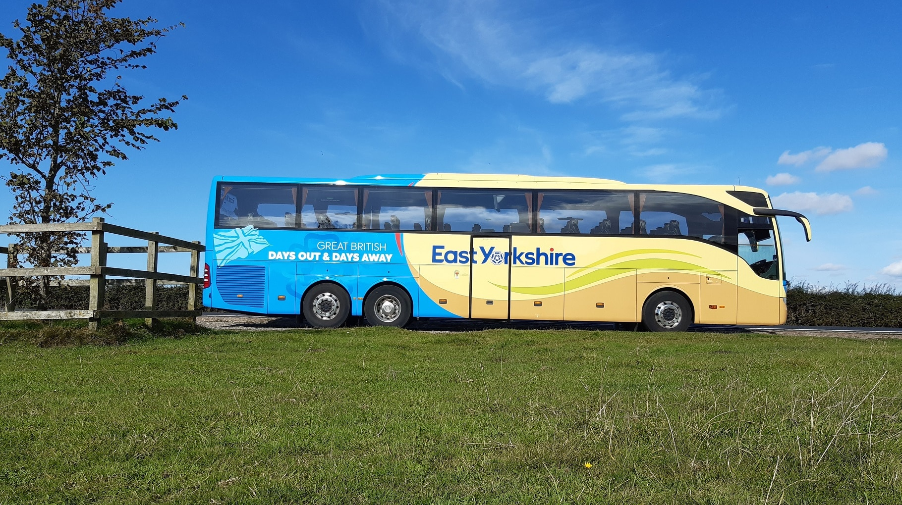East Yorkshire Coaches new livery