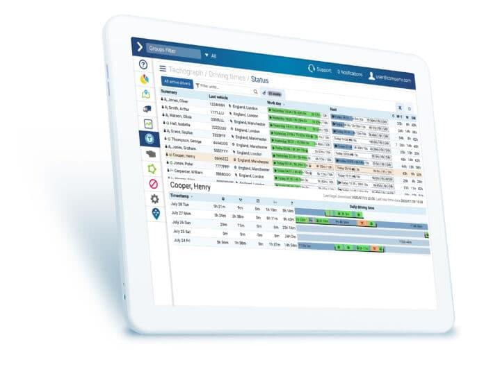 Geotab asset tracking software