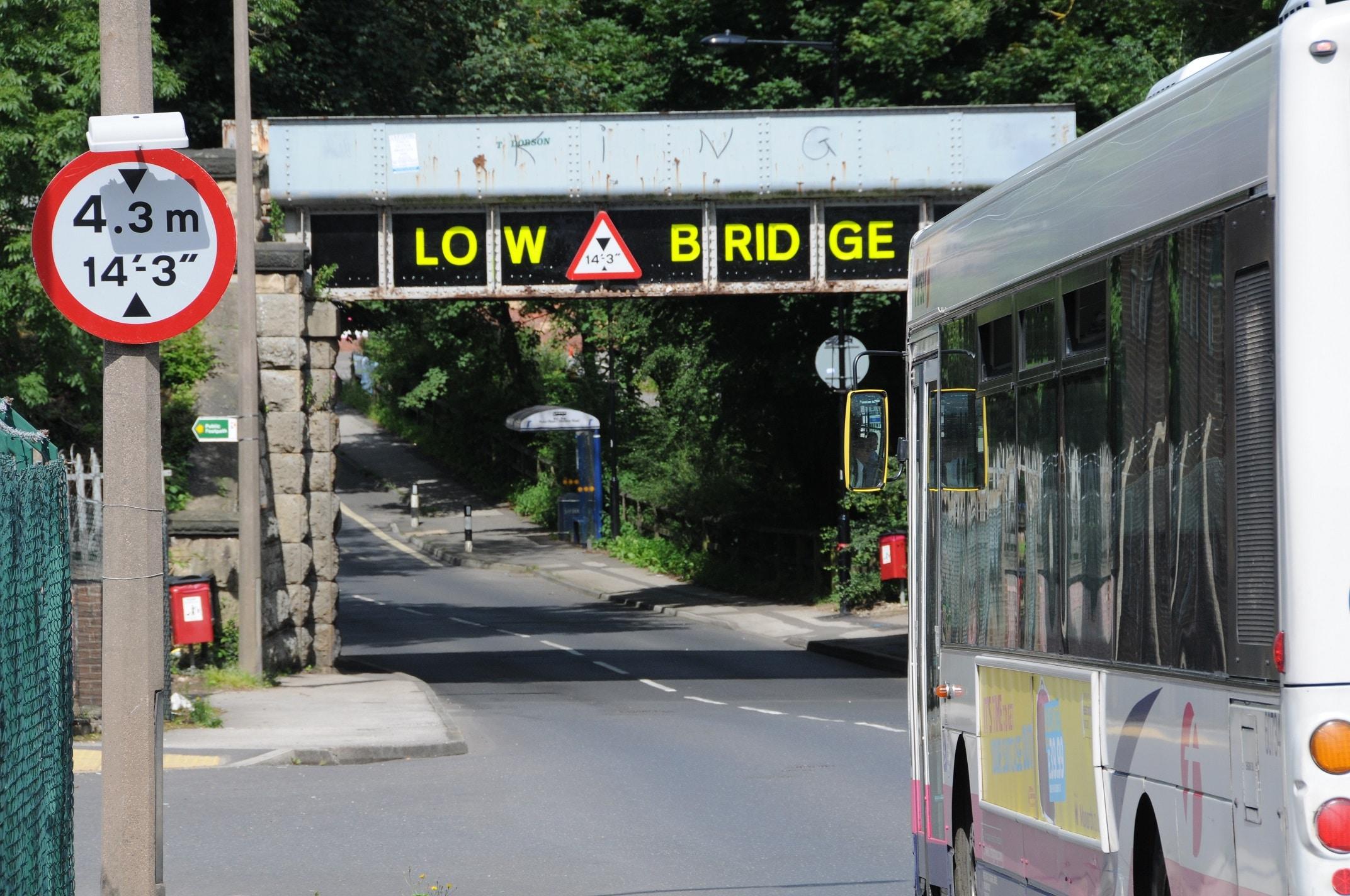 Bridge strike prevention