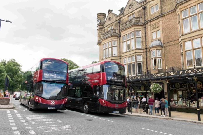Transdev in Harrogate Omnibus