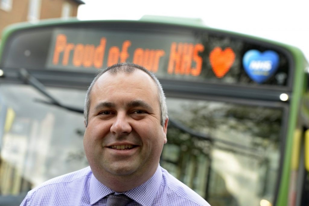 Aaron Sparks First Bus COVID