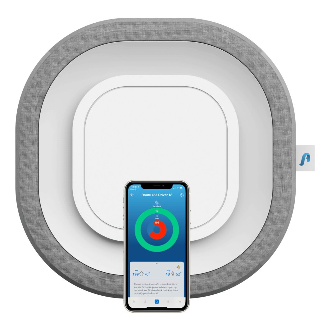 Aura Air with iPhone App