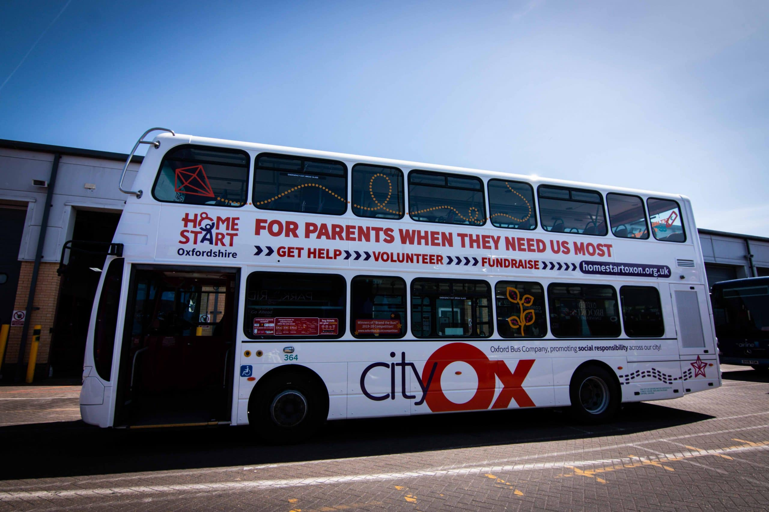 Brand the Bus 2020 Home Start - Vehicle Launch - 28 May