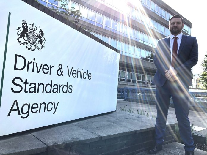 DVSA Phil breen Earned Recognition