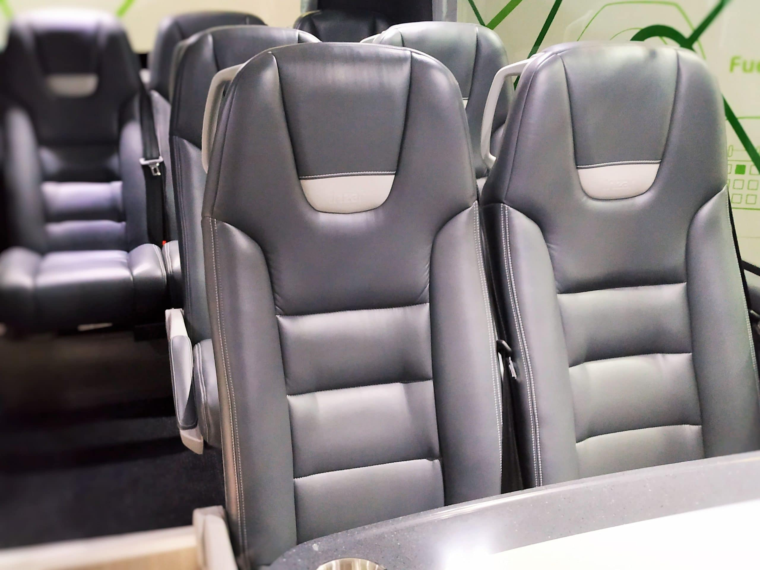 Ultrafabrics coach interior