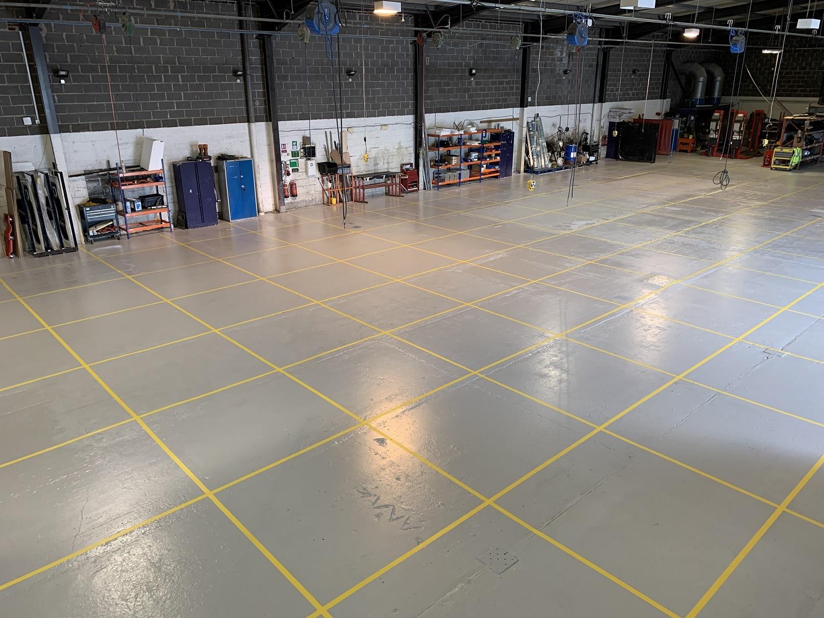 Treka Bus factory layout