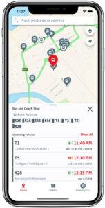 UrbanThings TrawsCymru app