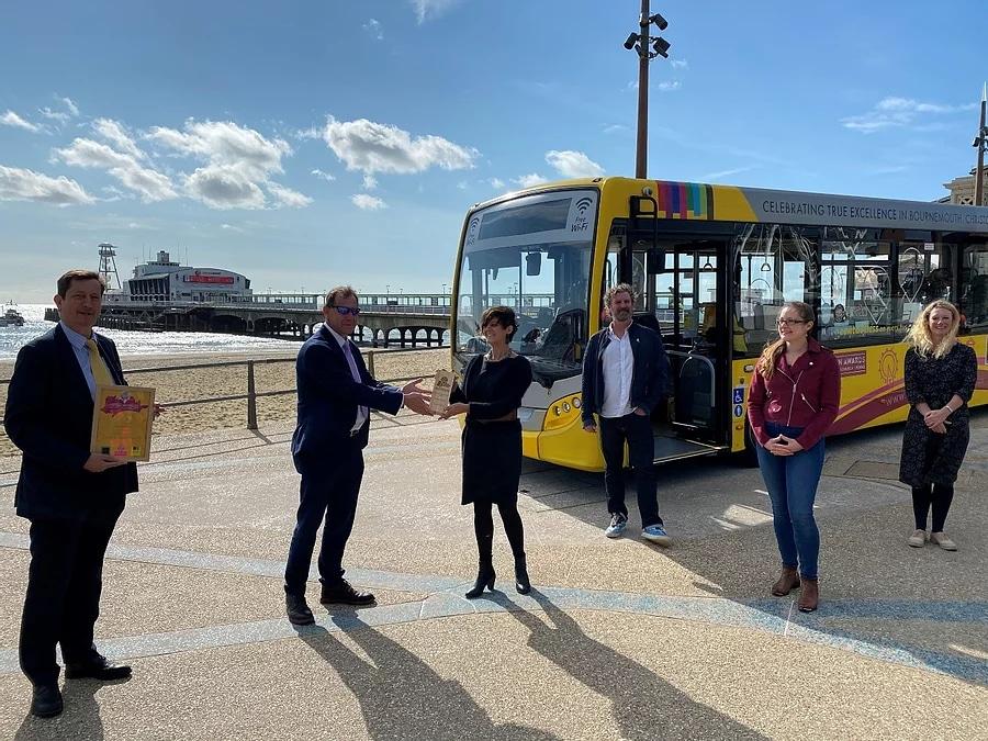 Yellow Buses BCP Destination Awards