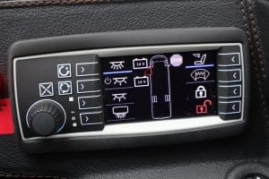 Multi-purpose passenger area control unit