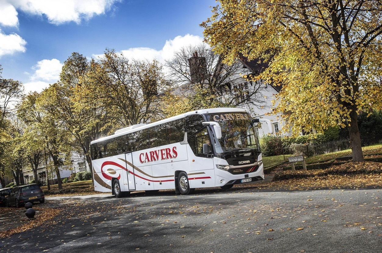 Carvers Coaches Scania Interlink