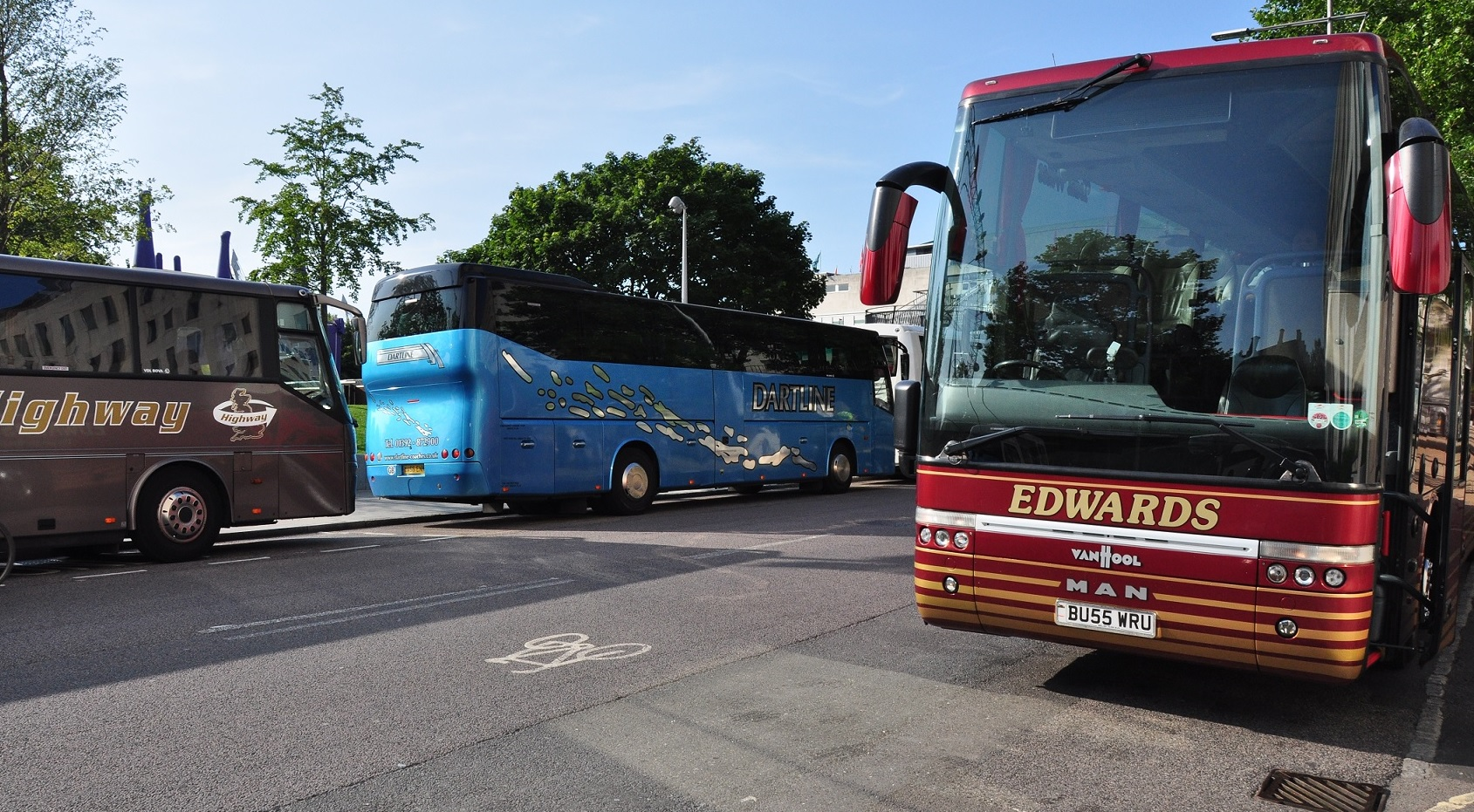 National coach network plans for December 2020