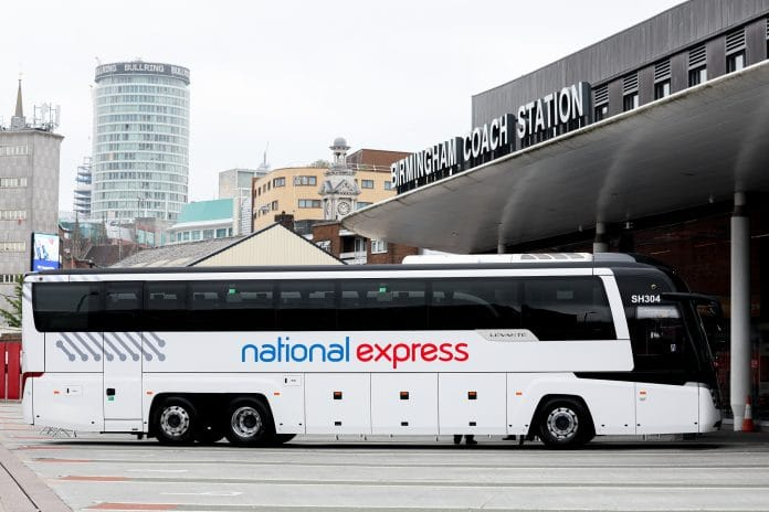 National Express university services