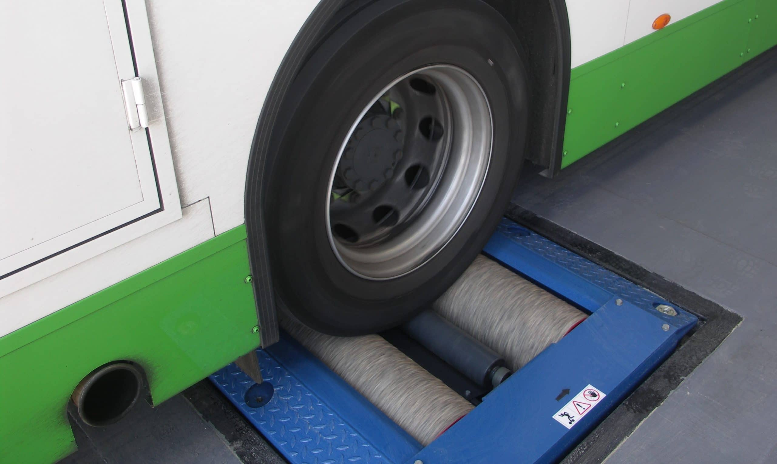 Heavy vehicle test slot availability notification portal