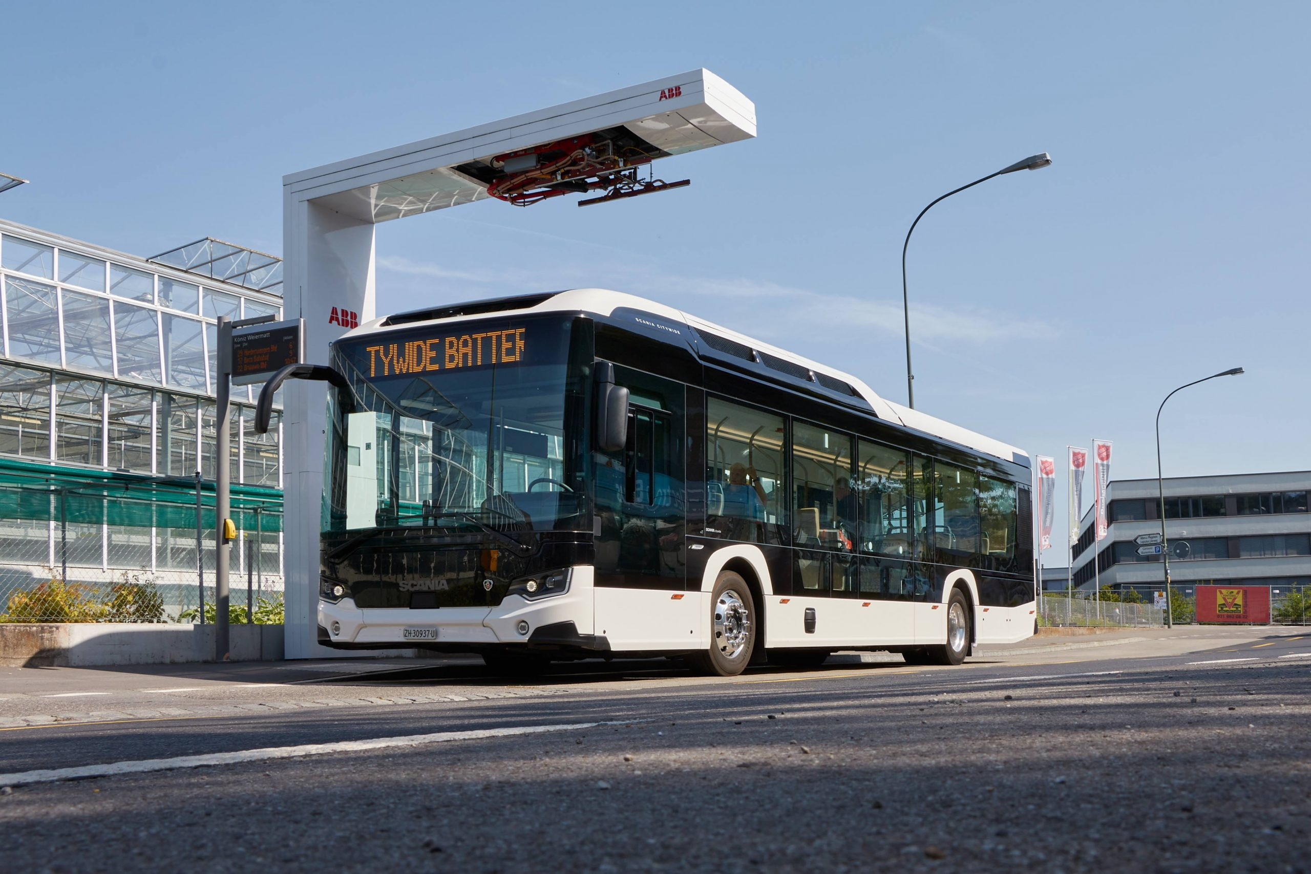 Scania Electric Bus Pantograph