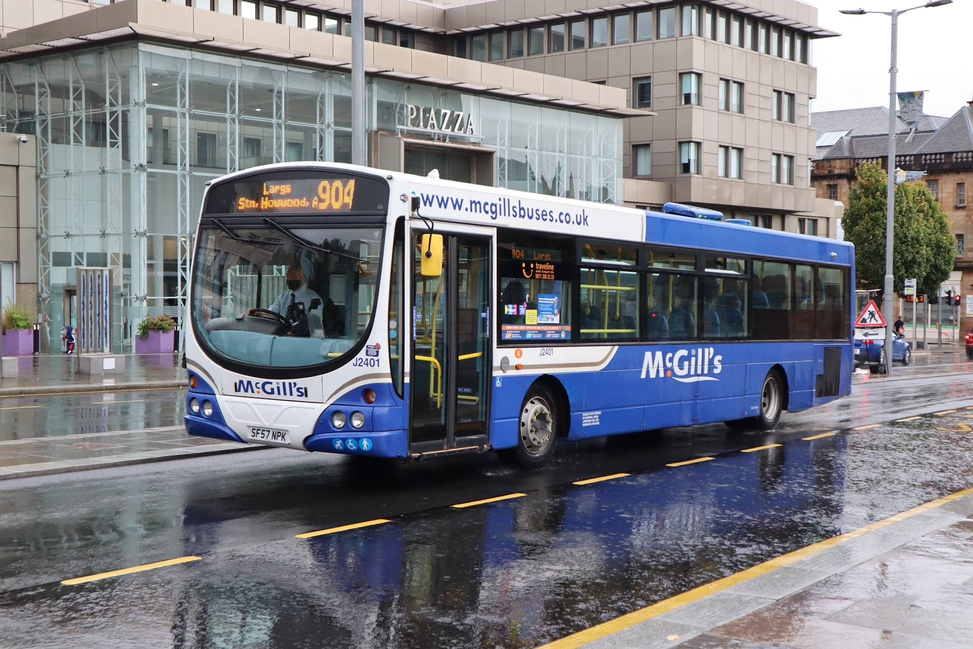 Temporary bus service variation process guidance
