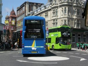 Temporary bus service variation changes