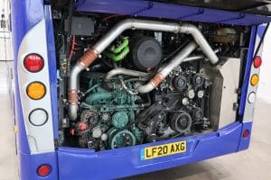 Volvo D8K engine in B8L chassis