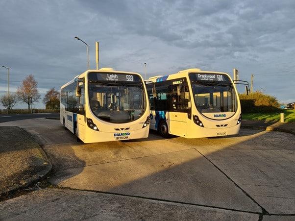 Diamond Bus North West Leigh Streetlites