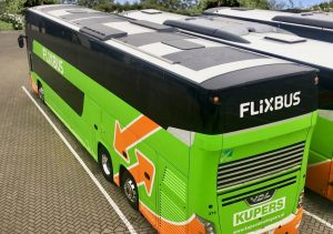 Coach and bus solar panels