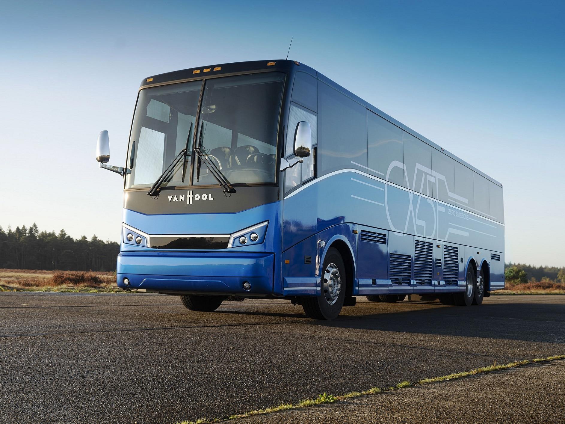 Van Hool CX45E battery-electric coach