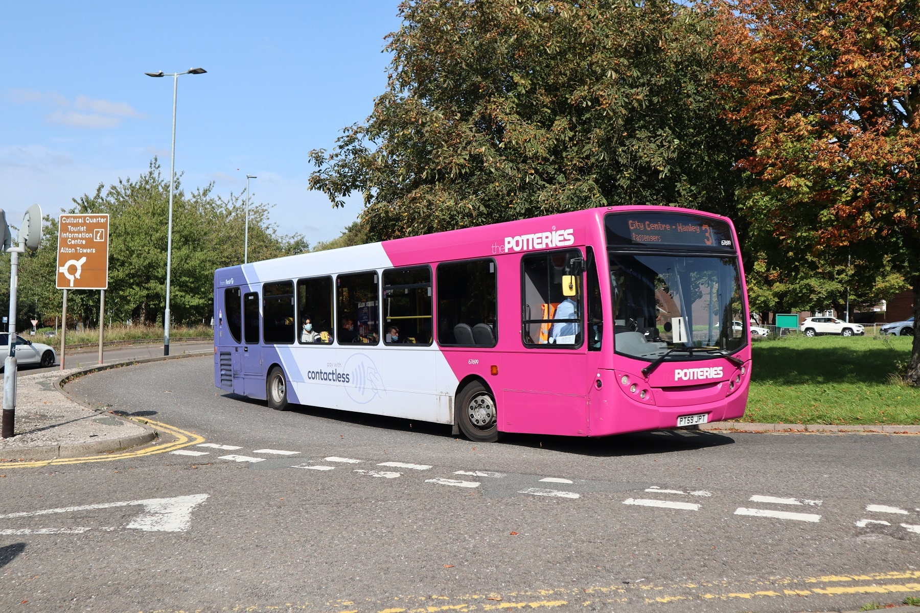 Bus patronage figures for early January 2021