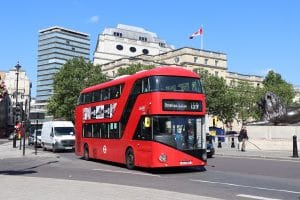 Bus patronage figures for early January 2020