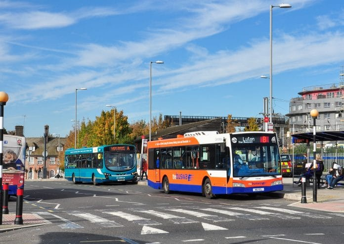 Bus service levels in England should be lower, says DfT