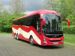 Free vaccination transport offered by Hollinshead Coaches