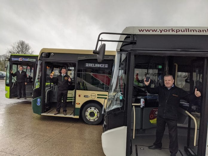 Passenger myTrip adopted by three York independent operators