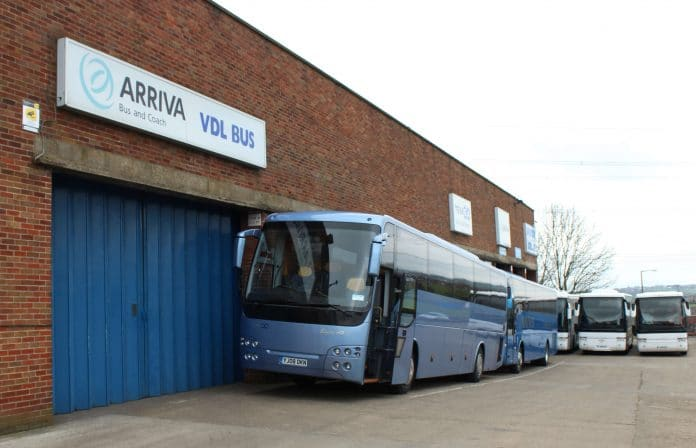 Arriva bus and coach dealership