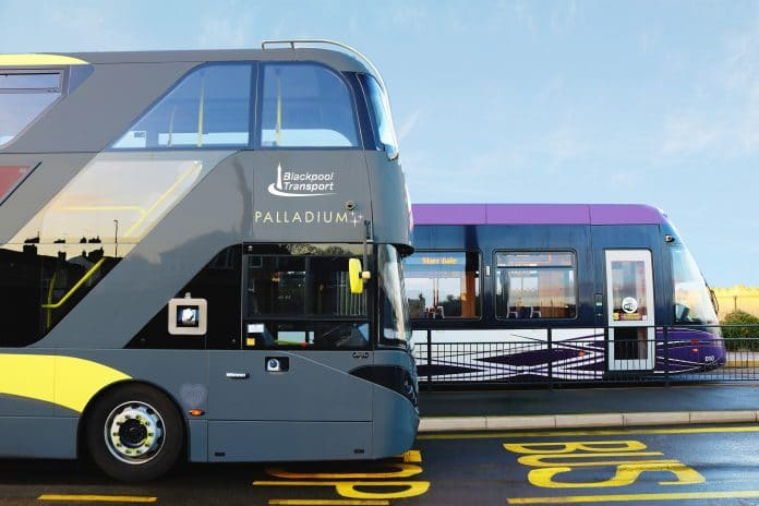 Blackpool Transport contactless payment introduced on buses