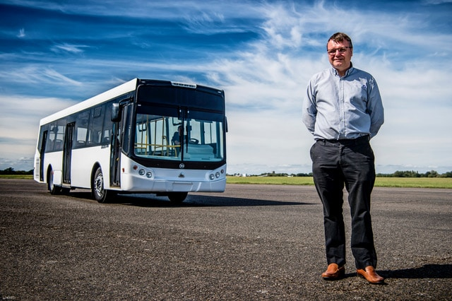 Electric bus retrofit - Equipmake MD Ian Foley