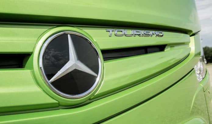 Cost-effective Mercedes-Benz Tourismo with PSVAR introduced