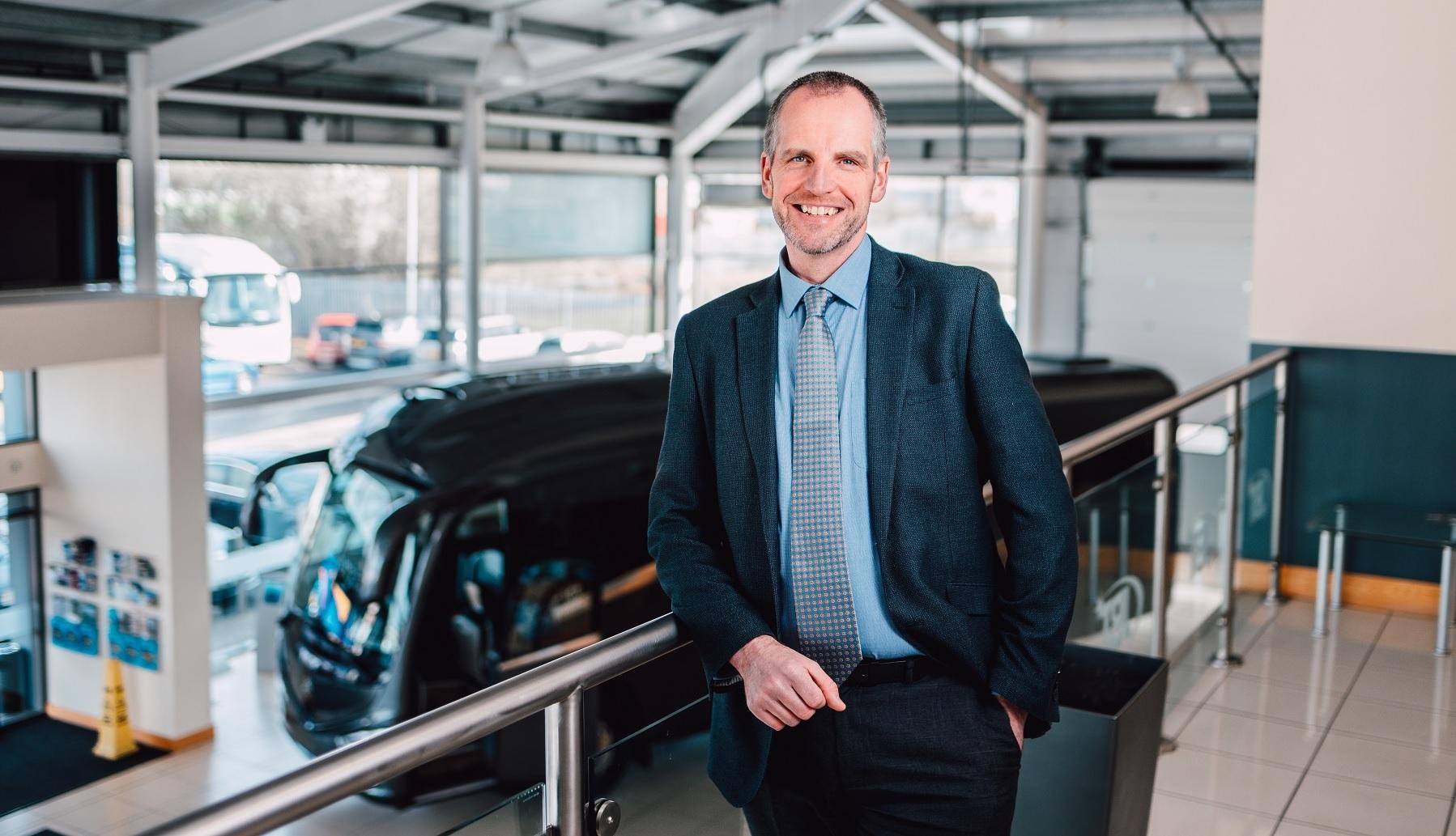 Andrew Blundell, Irizar UK Managing Director