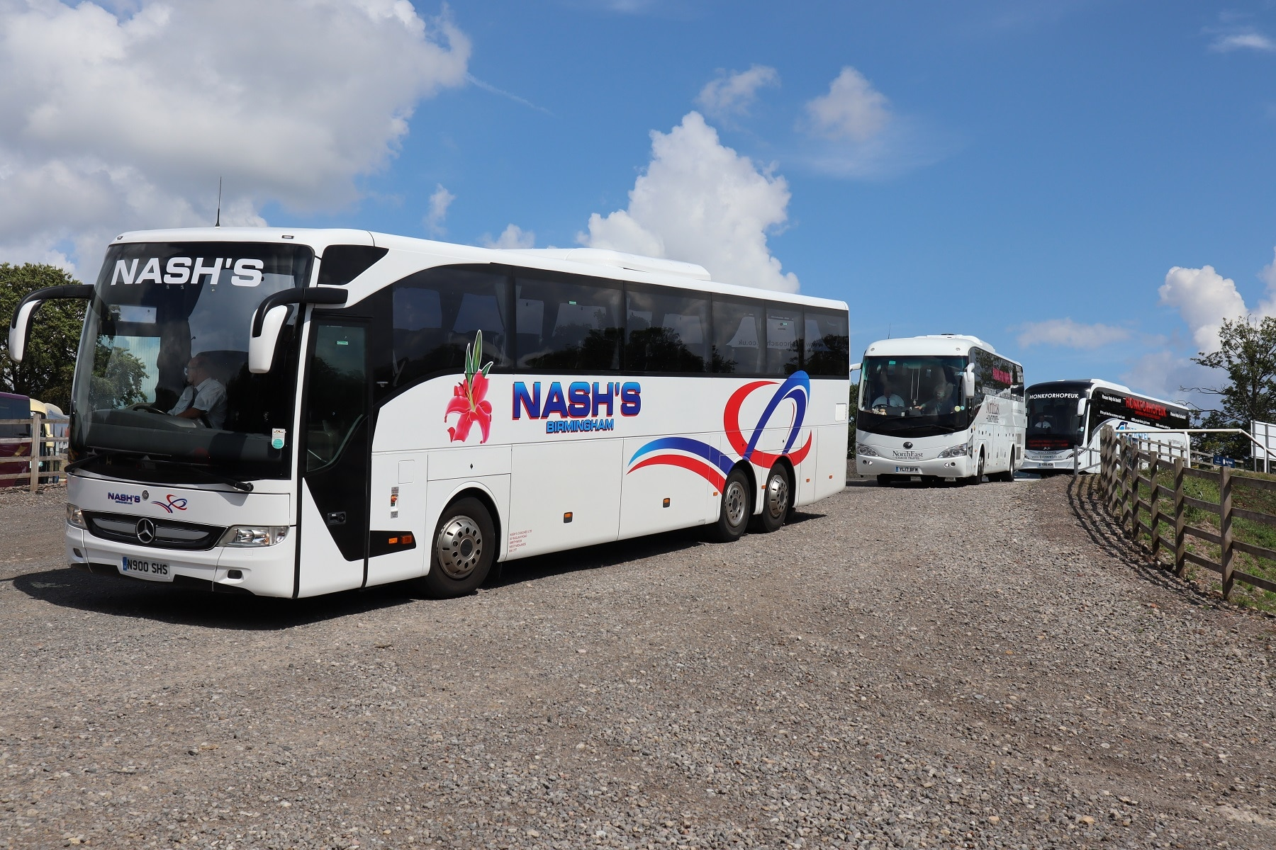 Coach industry advertising campaign work starts