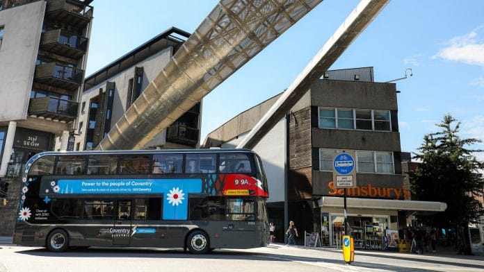 Coventry to be All Electric Bus City