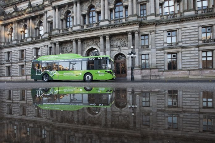 First Glasgow placed Enviro200EV order with BYD ADL