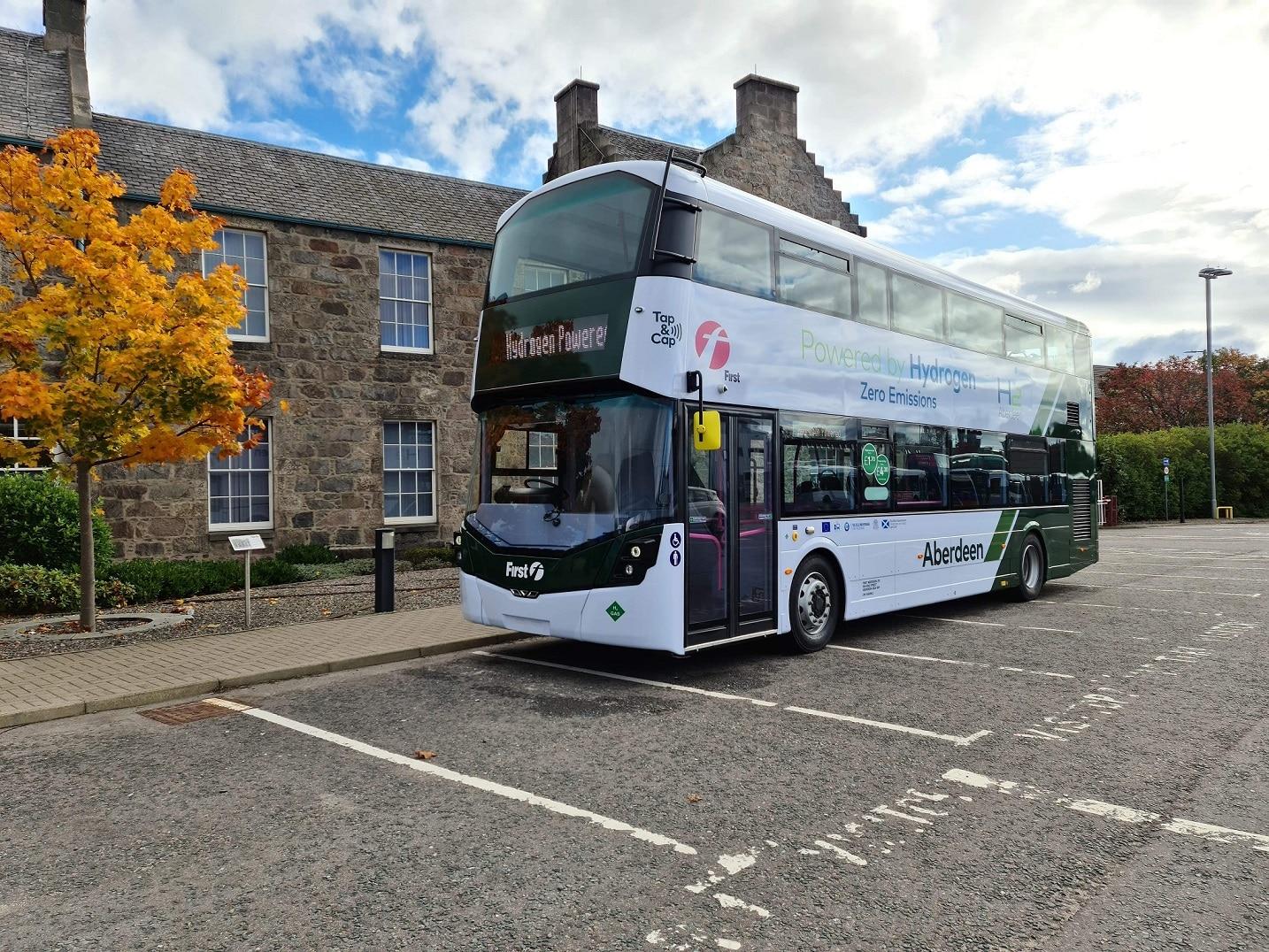 First Bus Scotland zero emission transition