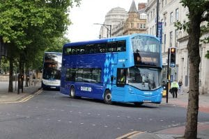Greater Manchester bus franchising