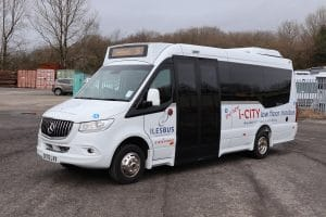 Ilesbus I-City and Glance with PSVAR compliance