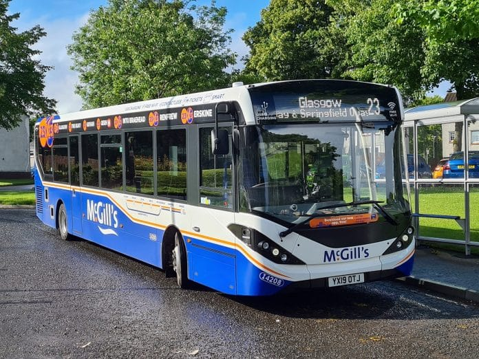 McGills Buses signs new Effitires deal with Michelin