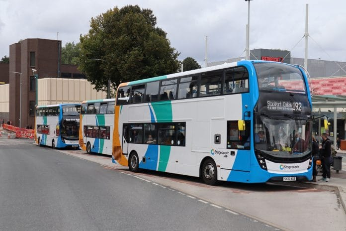 Stagecoach seeks Manchester bus franchising Judicial Review