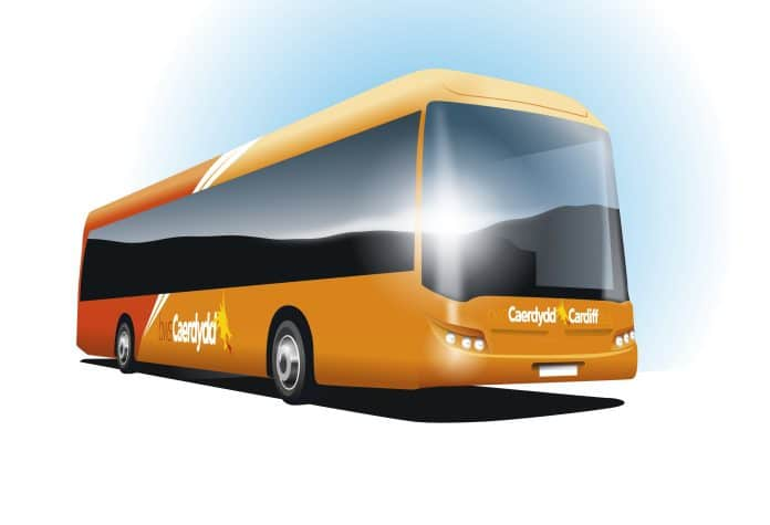 Cardiff Bus battery electric Yutong order