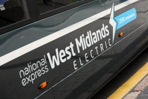 National Express West Midlands battery electric bus