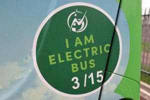 Newport Bus battery electric transition